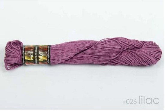 100% Hemp - Double Knitting / 8 Ply Weight - Lilac image 0