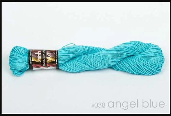 100% Hemp - Double Knitting / 8 Ply Weight - Angel Blue image 0