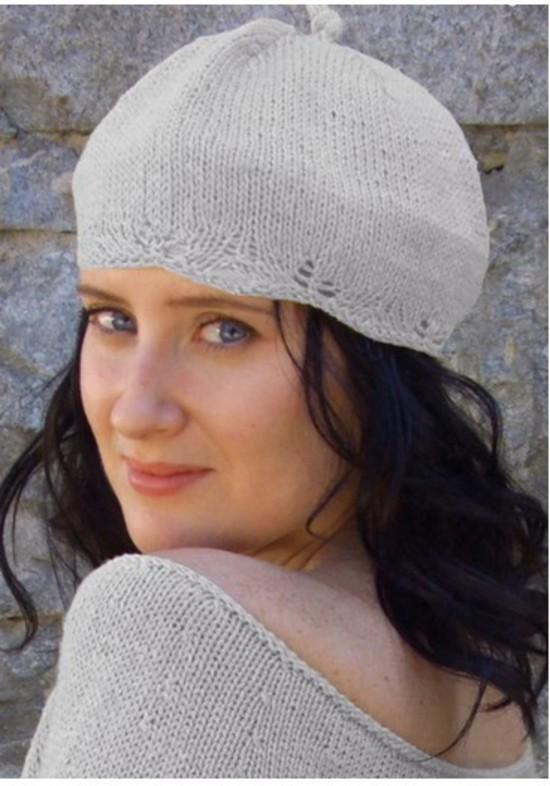 Kathy's Everywhere Tam Hat - Small Hemp Knitting Project image 1