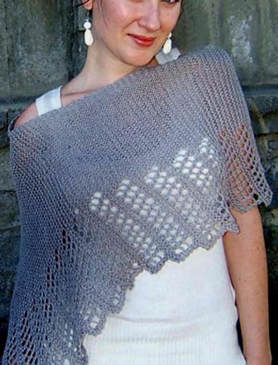 Cool Hemp Ponchette -  Small Hemp Knitting Project image 2