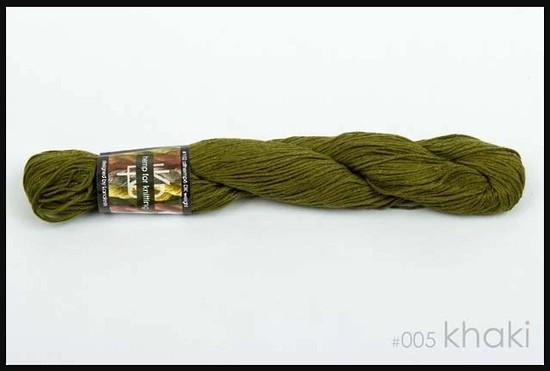 100% Hemp - Double Knitting / 8 Ply Weight - Khaki image 0