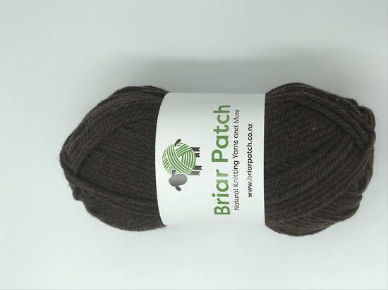 Two Dozen Balls of Organically Grown Super Soft Merino Knitting Wool - One Dozen in Each of Chocolate and Marle image 4