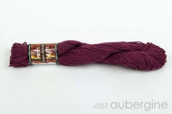 100% Hemp - Double Knitting / 8 Ply Weight - Aubergine image 0
