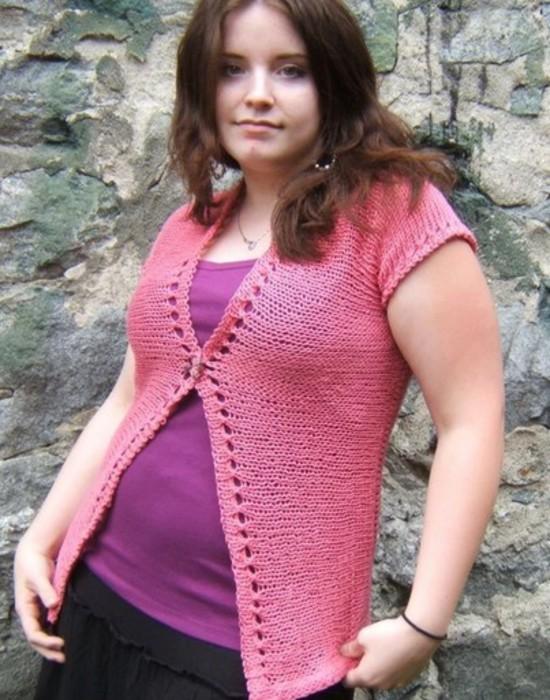 Eyelet Ease Hemp Knitting Pattern image 4