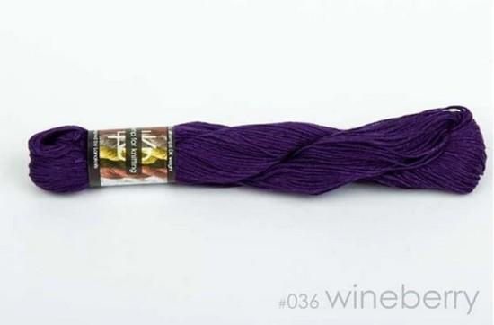 100% Hemp - Double Knitting / 8 Ply Weight - Wineberry image 0