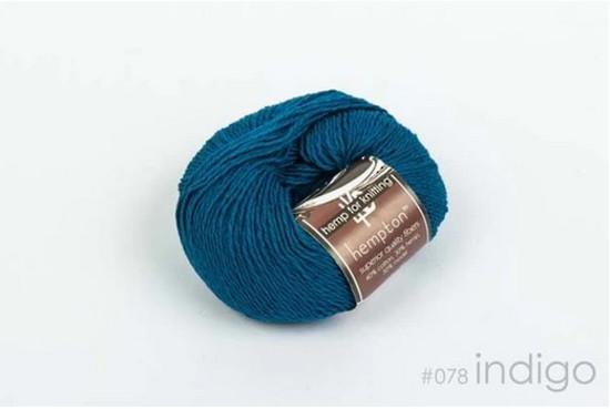 Hemp and Cotton - Hempton - Indigo image 0