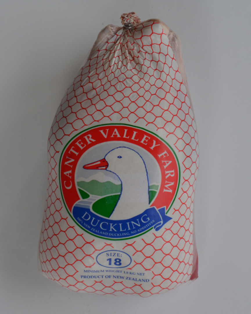 Frozen Whole Duck Size 19 image 1