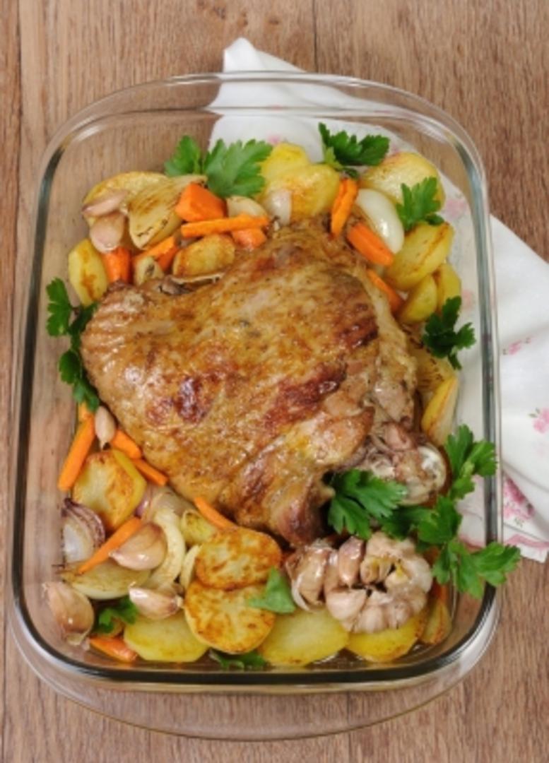 Frozen Turkey Thigh (5 x 1kg) image 0