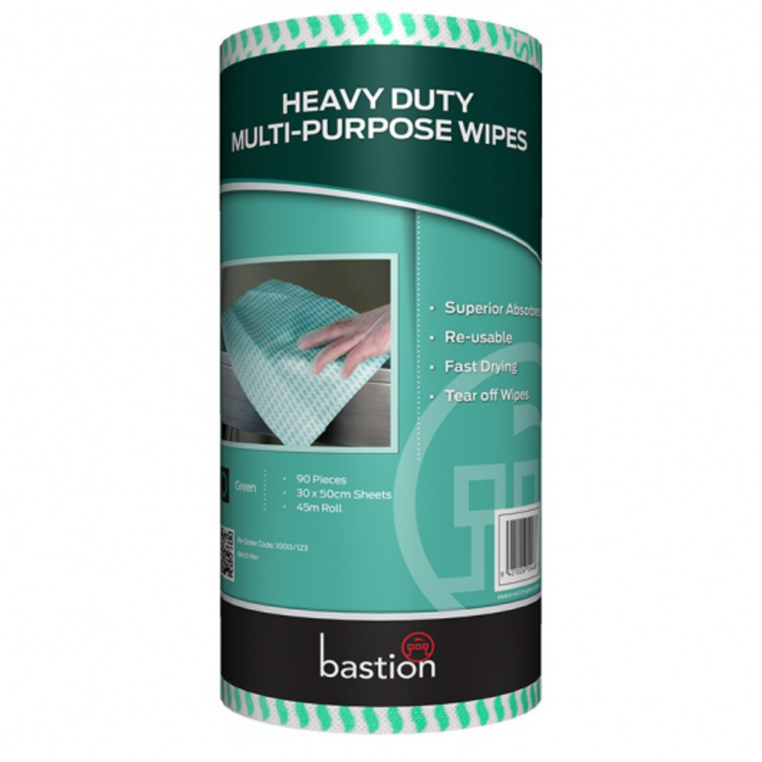Wipes Food Service Roll GREEN (Carton 4) image 0