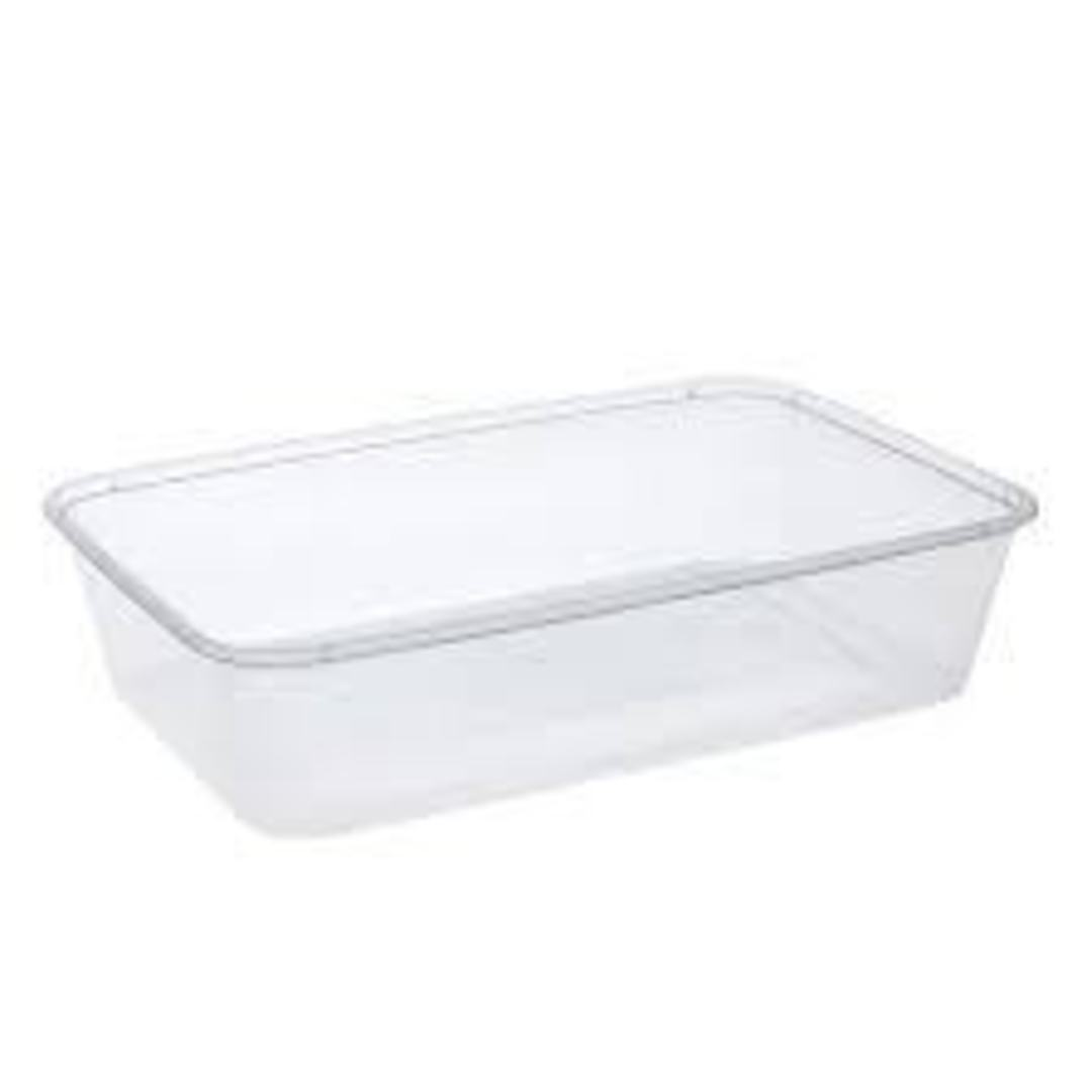 Containers 500ml RECTANGLE 50's (R) image 0