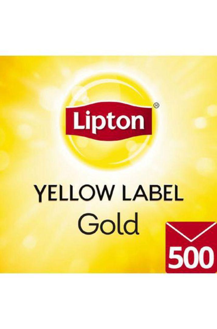 Teabags YELLOW LABEL Lipton (Env) (500) image 0