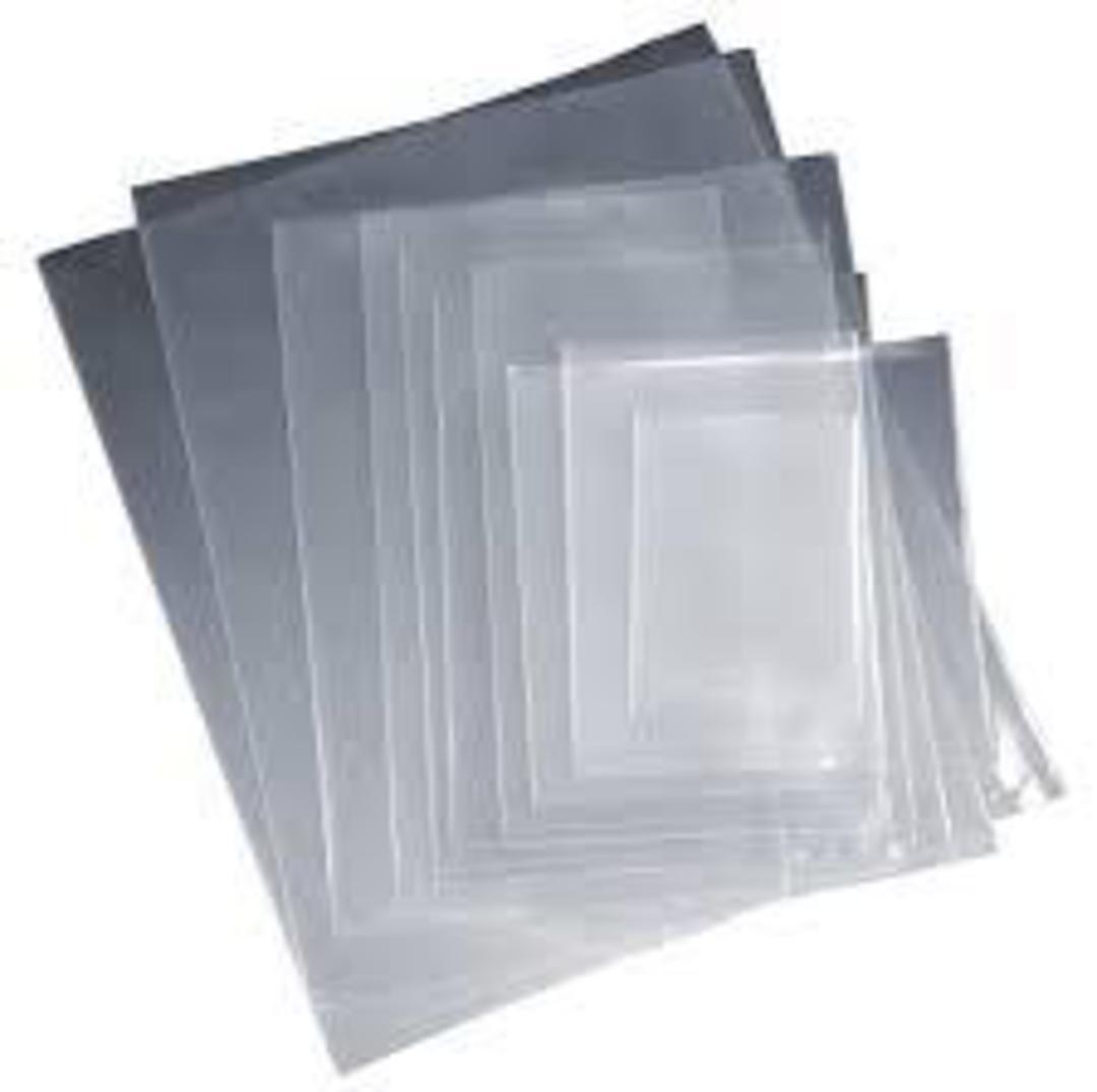 Plain Poly Bags 750Lx500W (50) image 1