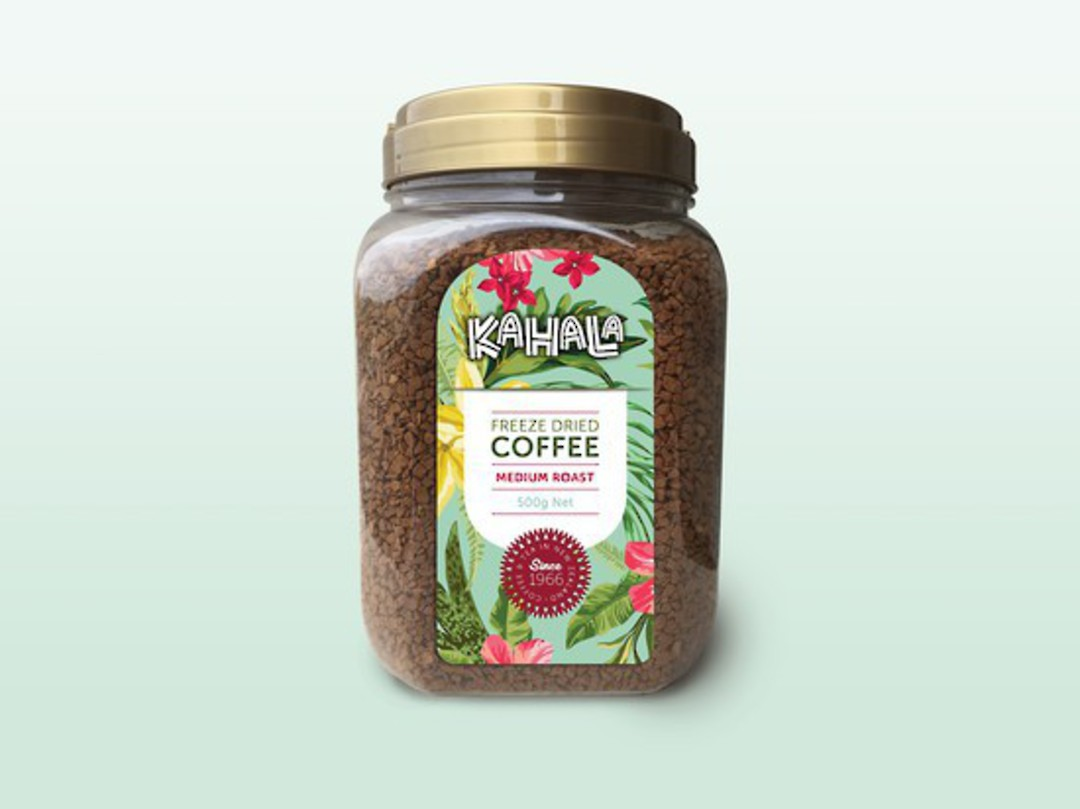 Coffee Kahala Freeze Dried GRANULATED 500g Medium Roast image 0