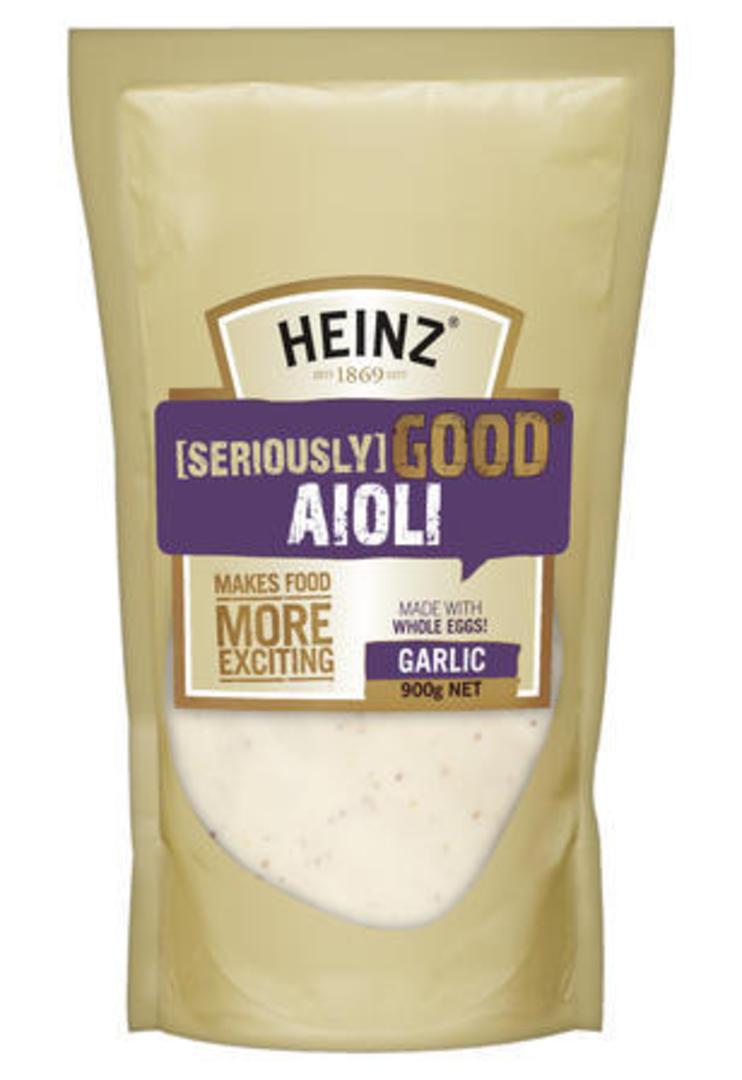 Aioli Garlic Seriously Good 900g Heinz image 0