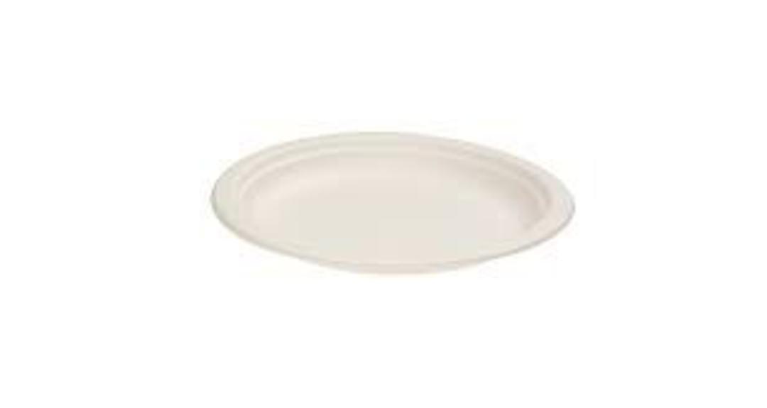Plates SIDE Sugar Cane 180ml (50) image 0