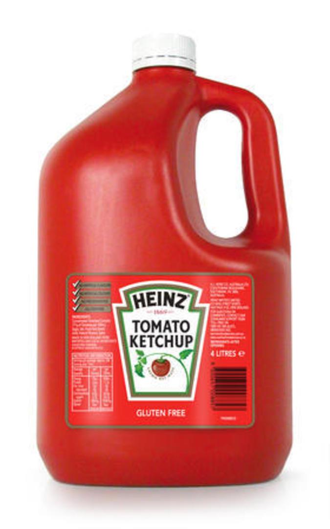 Tomato Ketchup Heinz 4L image 0