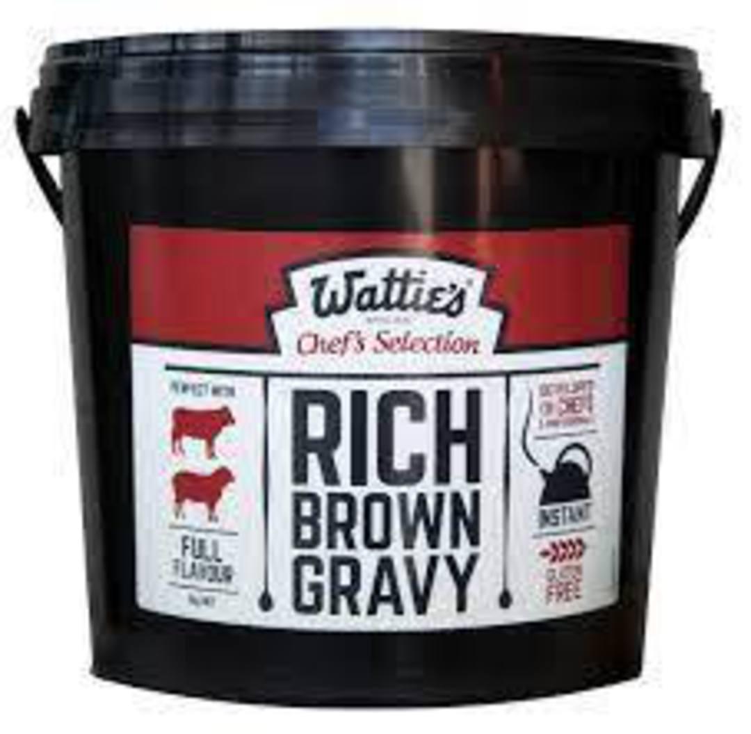Gravy Mix Rich Brown Inst  Watties 2kg (Makes 20L) G/F image 0