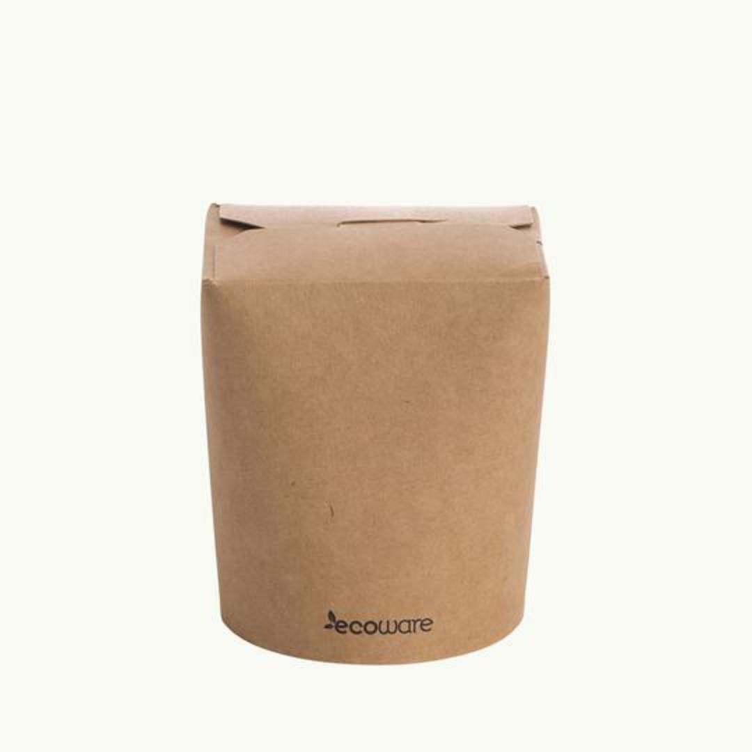NOODLE BOX 26oz/780ml Biodegradable (50) image 0