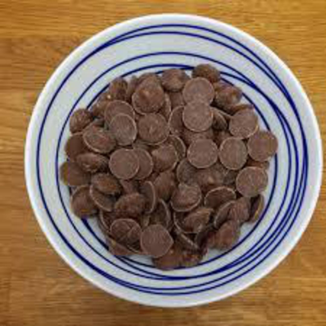 Chocolate Buttons MILK CHOC Compound 1kg image 0