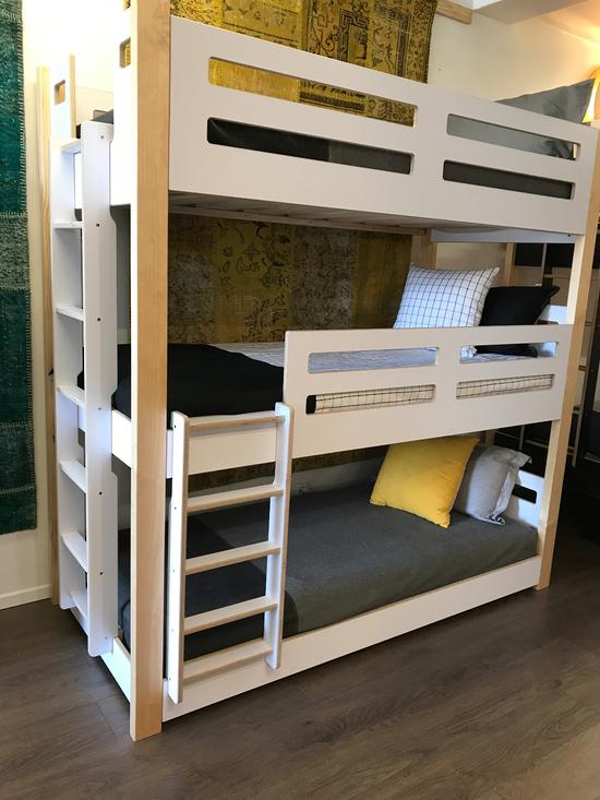 Urbankids Co Nz Devon 3 Tier Triple Bunk Bed