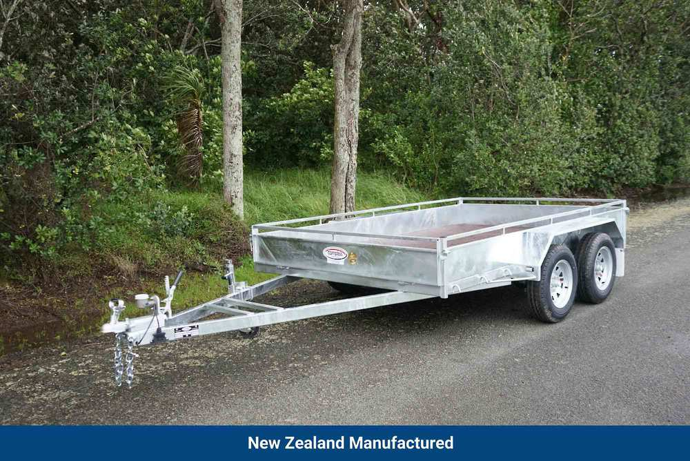 Heavy Duty Tandem Axle Trailer 3000 x 1800mm (10'x6') image 0