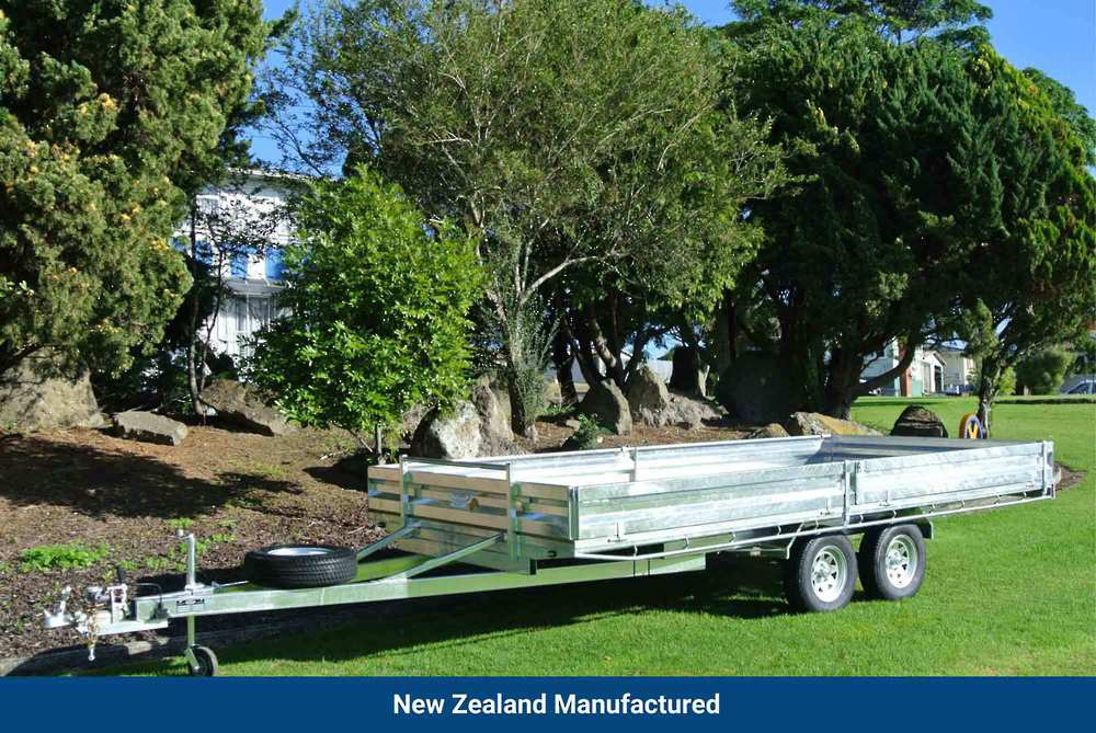 Flat Deck Tandem 4820 x 2200mm (15.8'x7.2') image 0