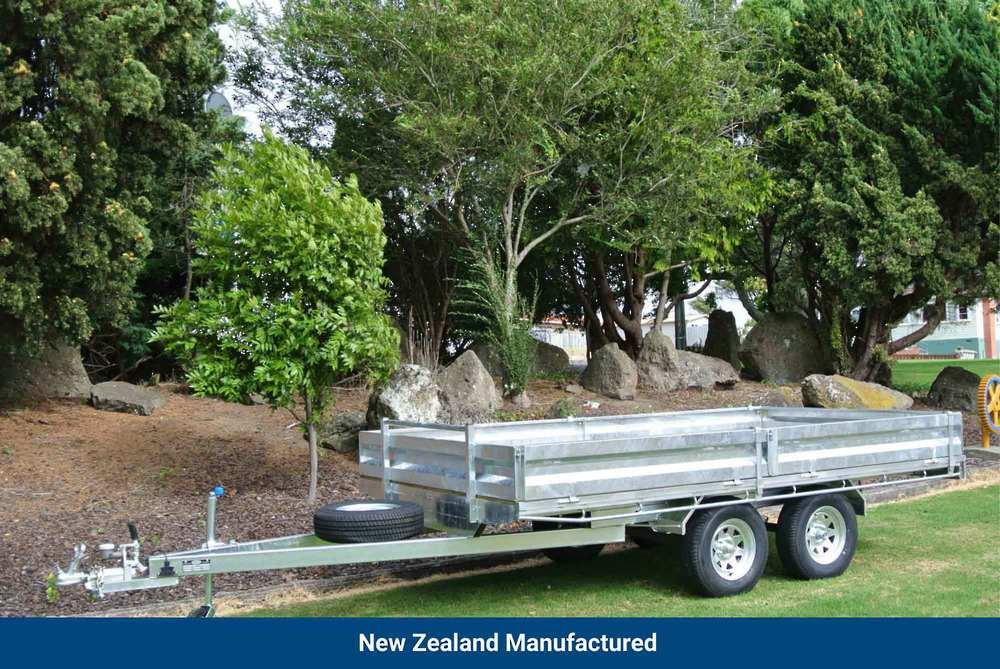 Flat Deck Tandem 3620 x 1940mm (12'x6.6') image 0