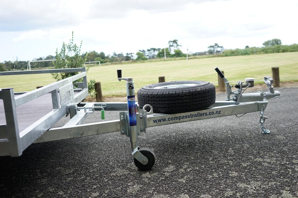 Single Axle Tilt Mower Trailer 3050mm x 1950mm 1500kg Braked image 4