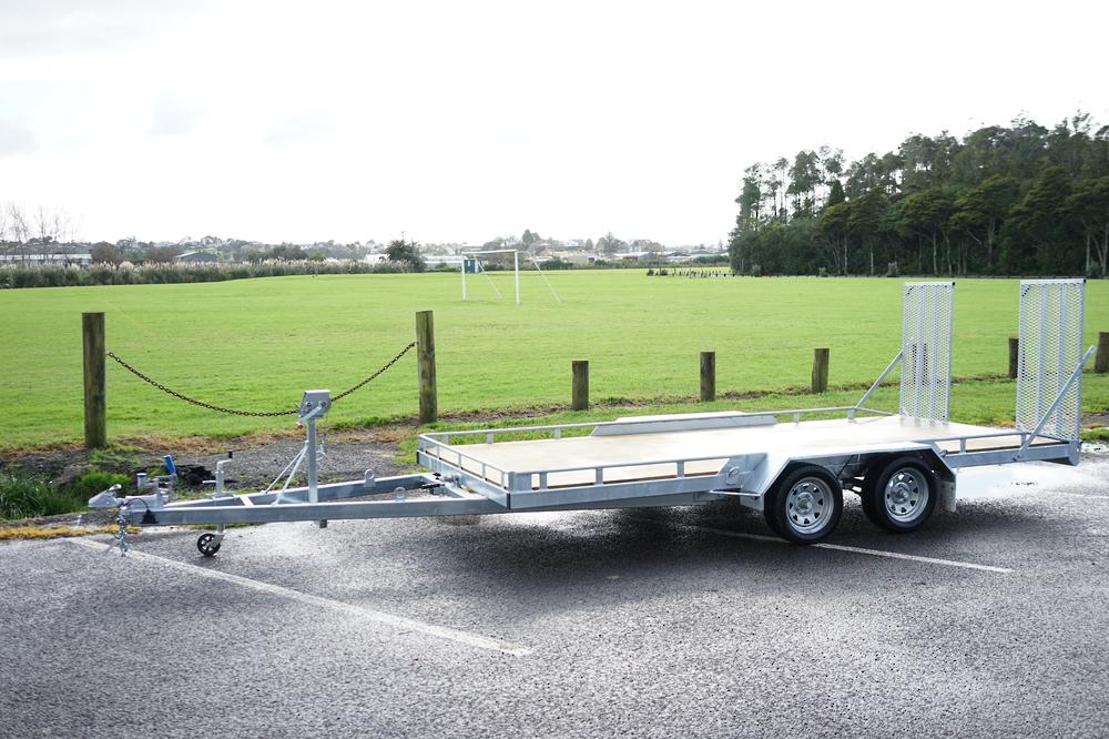 Tandem Vehicle Transporter 4500mm x 1975mm Braked image 1