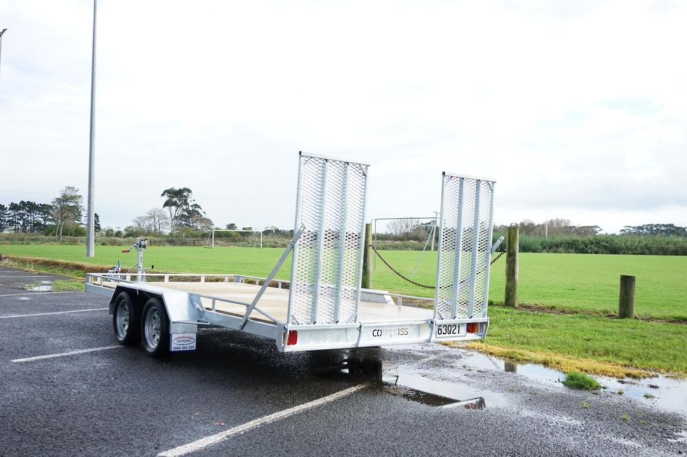 Tandem Vehicle Transporter 4500mm x 1975mm Braked image 2