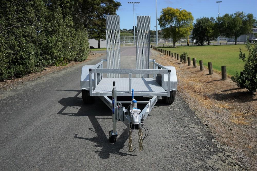 Single Axle Scissor Lift Trailer 2100 x 1220mm Braked image 4