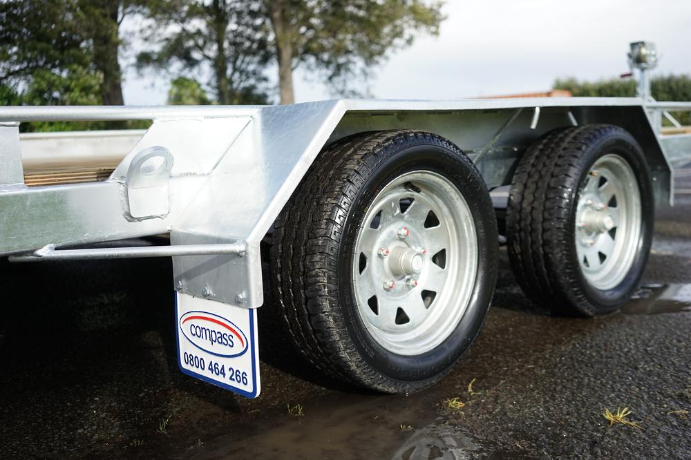 Tandem Vehicle Transporter 4500mm x 1975mm Braked image 3