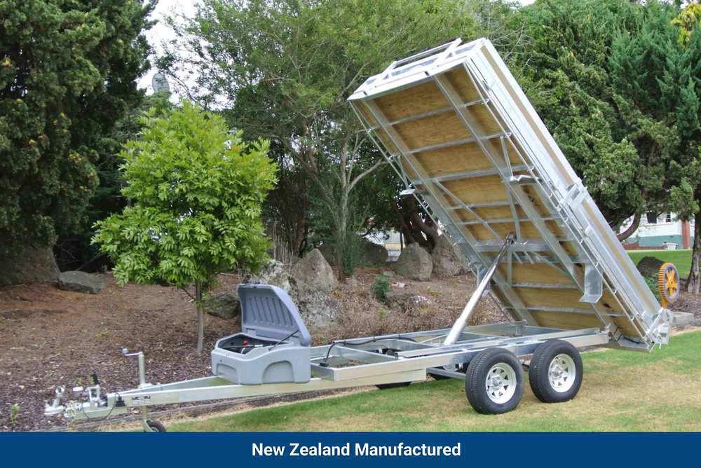Flat Deck Tip Trailer 3620 x 1940mm (12'x6.6') image 0