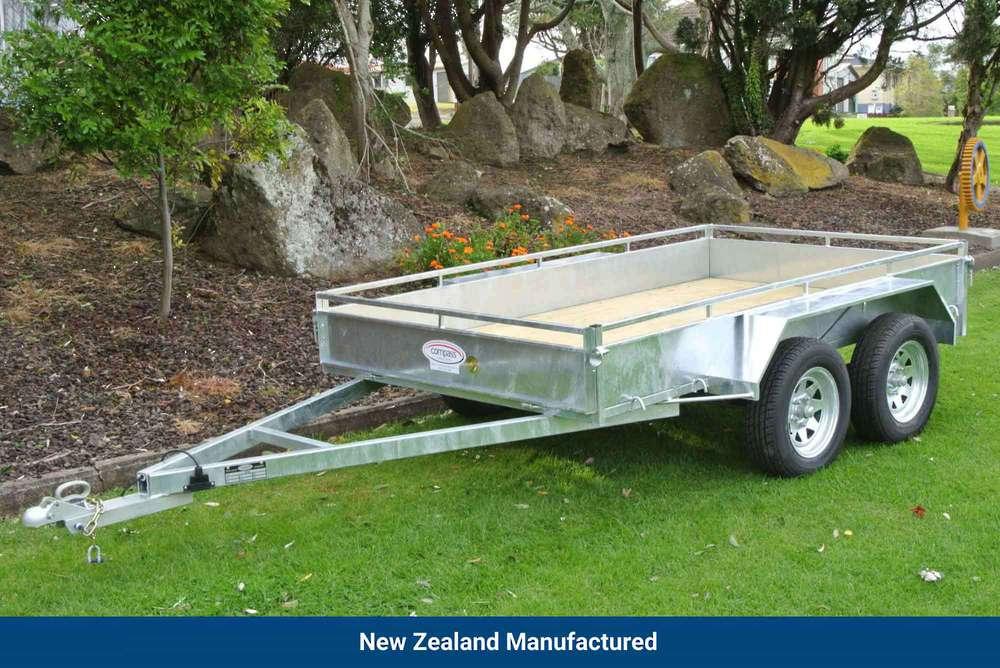 Heavy Duty Tandem Axle Trailer 2700 x 1500mm (9'x5') image 0