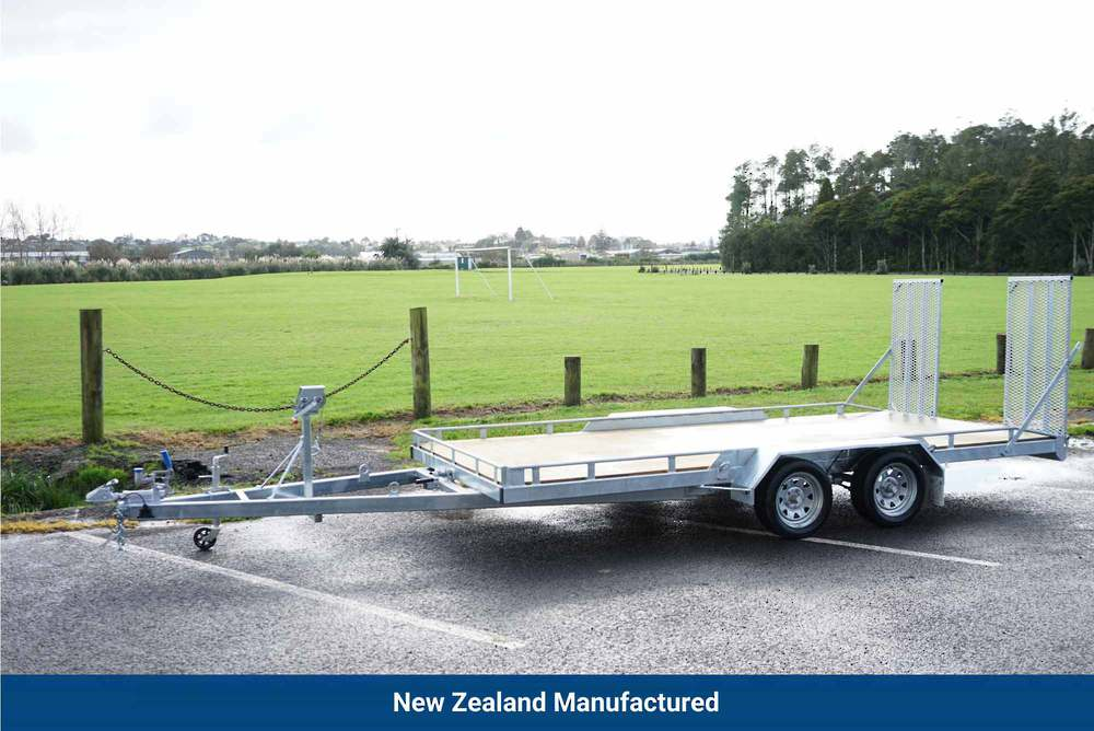 Tandem Vehicle Transporter 4500mm x 1975mm Braked image 0