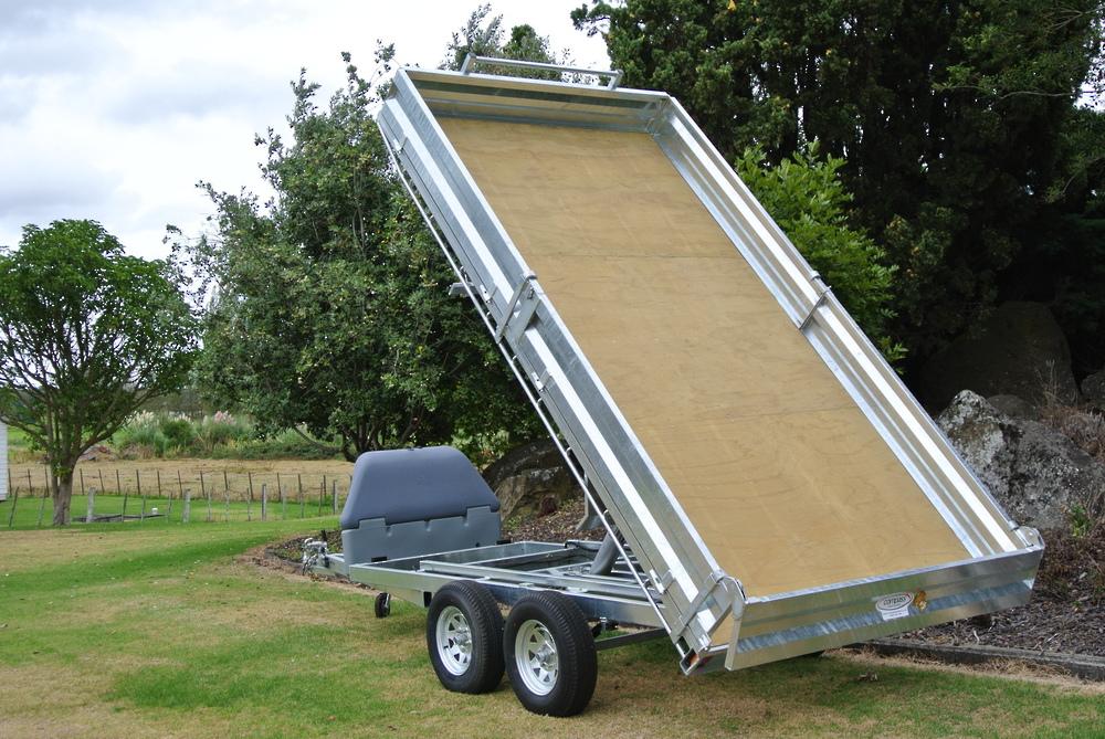 Flat Deck Tip Trailer 3620 x 1940mm (12'x6.6') image 3