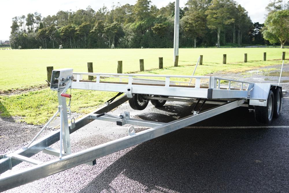 Tandem Vehicle Transporter 4500mm x 1975mm Braked image 4