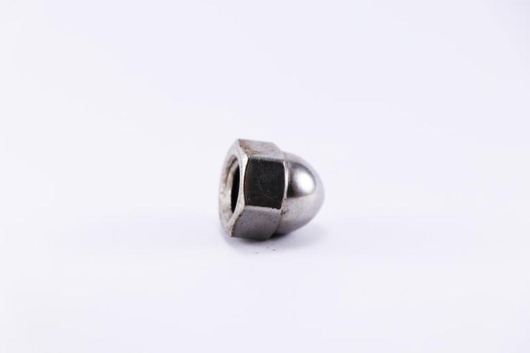 Nut 3/8-16 Acorn Zinc image 0