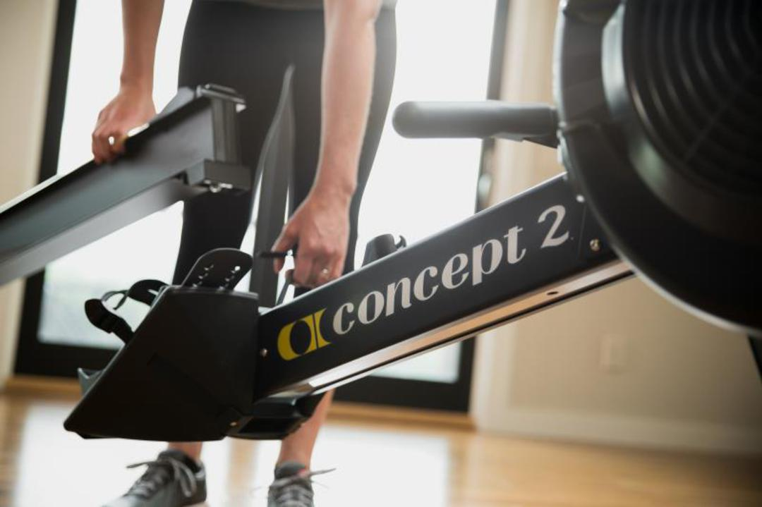 Black Model D PM5 Indoor Rower- OUT OF STOCK image 3