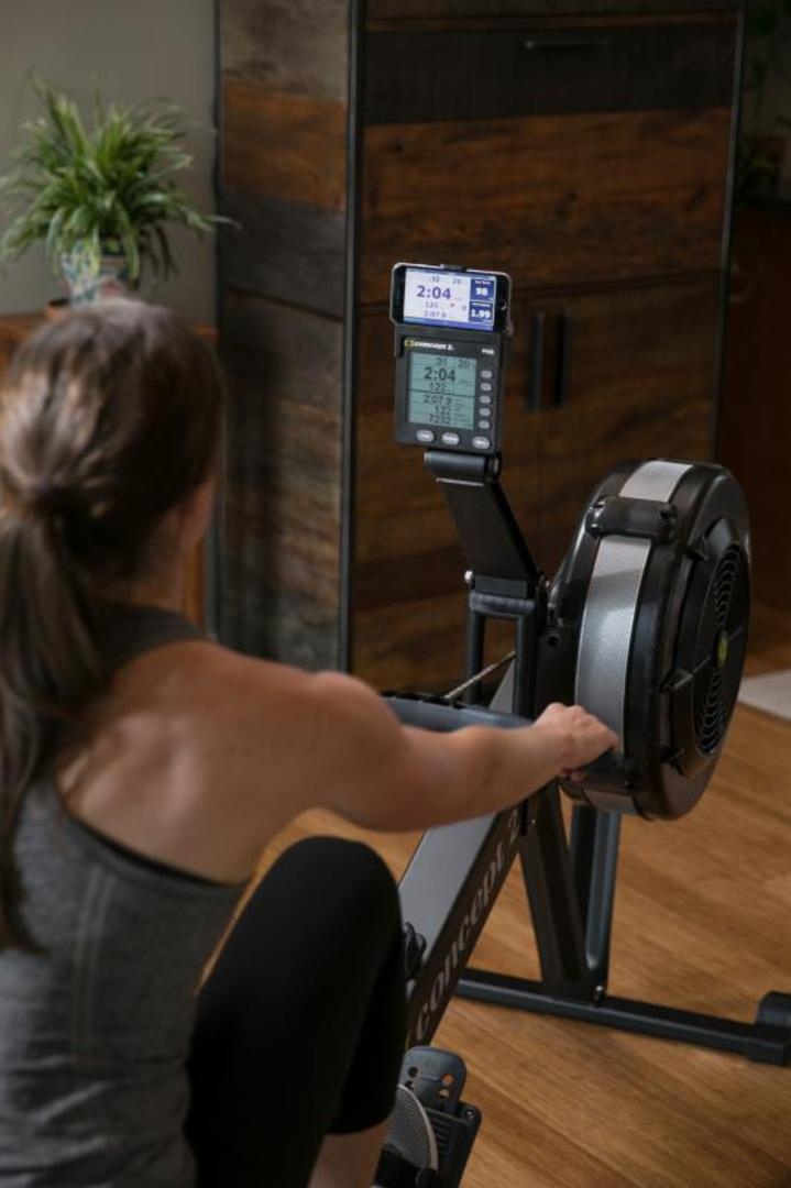 Black Model D PM5 Indoor Rower- OUT OF STOCK image 2