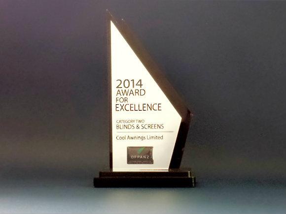 2014 Award For Excellence OFPANZ
