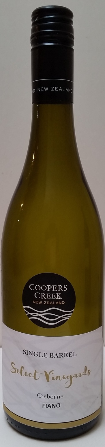 'Single Barrel' SV Gisborne Fiano 2017 image 0