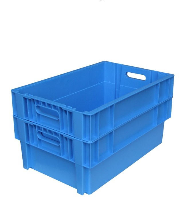 44 Litre Stack N Nest Crate Fully Vented (600 x 400mm) image 1