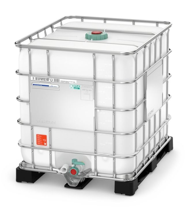 1000 Litre FG IBC DN50 Reconditioned image 0