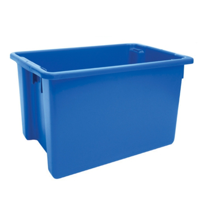 68 Litre Stack N Nest Crate (645 x 413mm) image 1