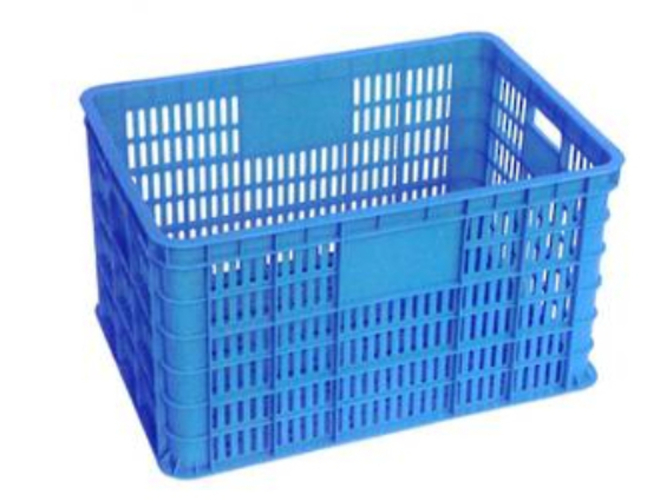 75 Litre Vented Stackable Draining Crate (610 x 430mm) image 0