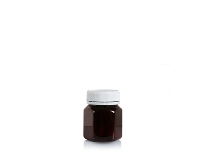 100ml Hex PET Jar image 1