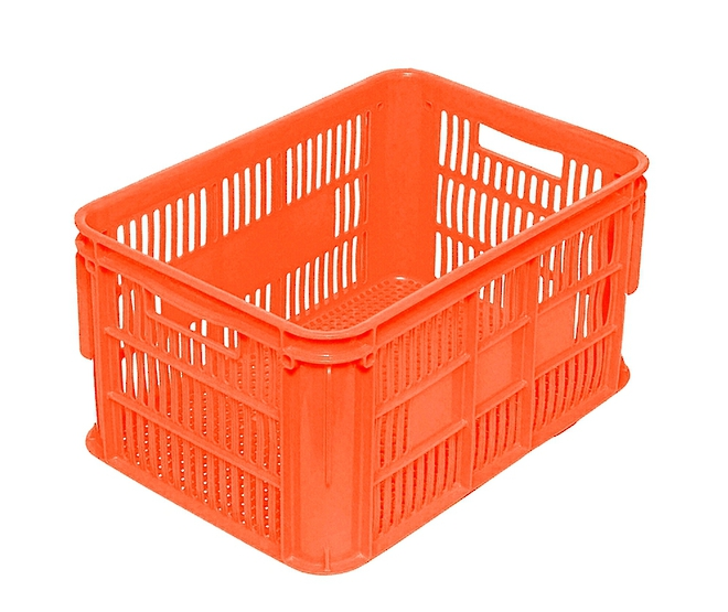 65 Litre Vented Stackable Draining Crate (610 x 420mm) image 3