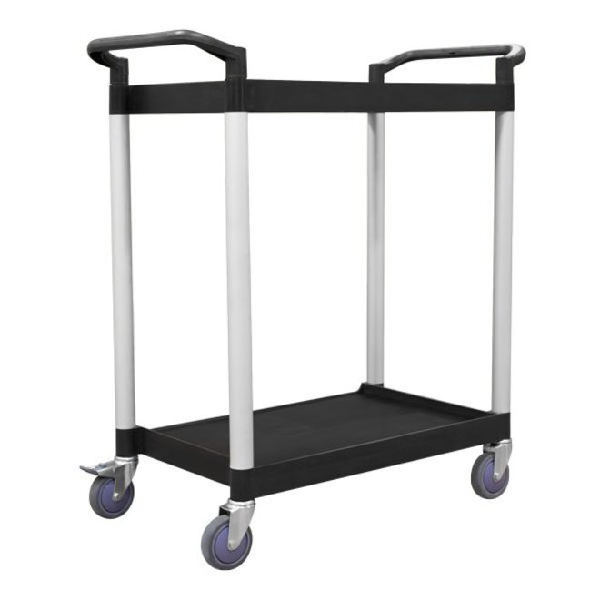 2 Tier Service Trolley - 625 x 430mm image 0