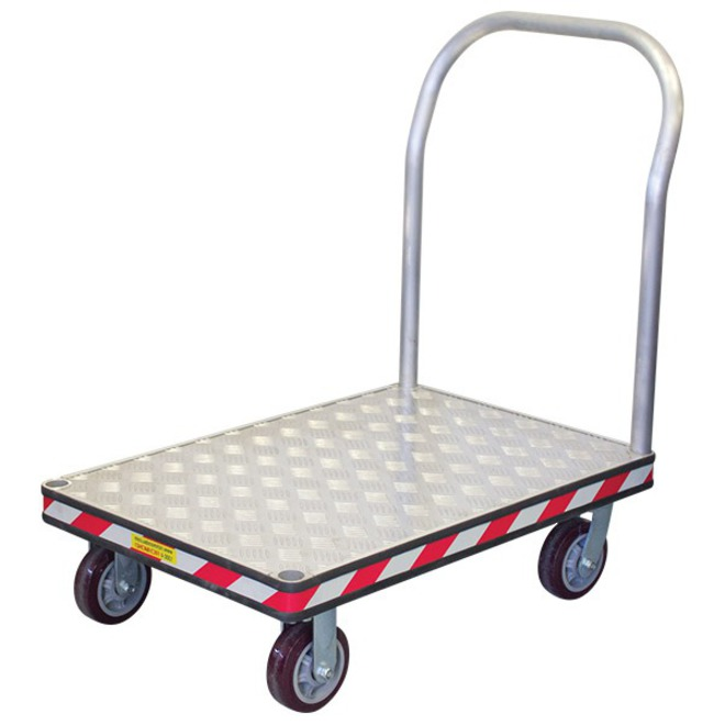 Medium Aluminium Platform Trolley image 0